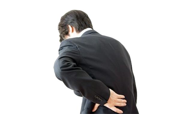 テレワーク腰痛が急増中